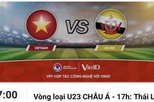 VFF mở bán vé online vòng loại U23 Châu Á