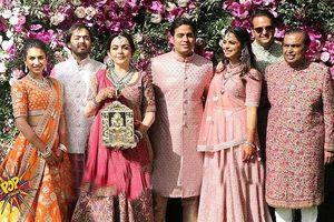 Cận cảnh đám cưới 'siêu' xa hoa của con trai tỷ phú giàu nhất châu Á