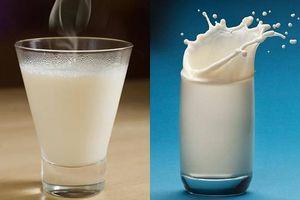 Sữa nóng hay sữa lạnh? Thức uống nào tốt hơn?