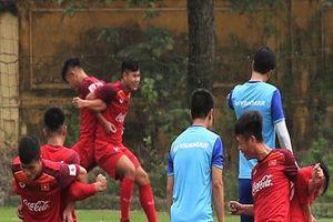 CLIP: Tuyển U23 Việt Nam tập luyện hăng say chuẩn bị cho vòng loại giải U23 châu Á
