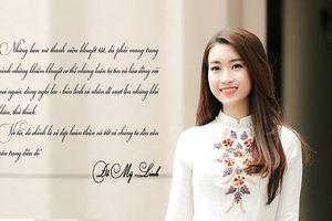 Hoa hậu Đỗ Mỹ Linh sẽ tham gia đêm chung kết Liên hoan Vẻ đẹp Vầng trăng khuyết 2019