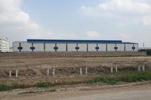 Hưng Yên:Công ty Trang Huy sử dụng đất thải để san lấp mặt bằng dự án?