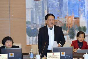 Ủy ban Thường vụ Quốc hội cho ý kiến về dự án Luật Dân quân tự vệ (sửa đổi)