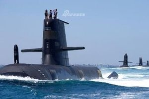 Australia khoe hạm đội tàu ngầm cực mạnh