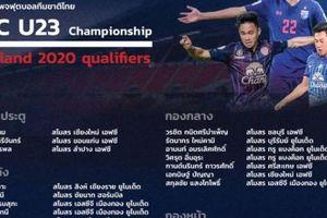 Tin sáng (12.3): U23 Thái Lan đấu U23 Việt Nam bằng đội hình... siêu tấn công