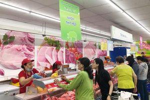 Sức tiêu thụ thịt heo an toàn của siêu thị Co.opmart tăng mạnh