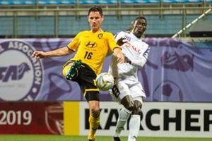 Hòa Tampines Rover trên sân khách, Hà Nội FC tạm thời dẫn đầu bảng F AFC Cup