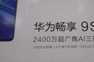 Huawei Enjoy 9s sẽ có bộ nhớ trong 128 GB, chạy EMUI 9.0