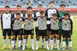 U.23 Thái Lan gút danh sách 23 tuyển thủ dự vòng loại U.23 châu Á
