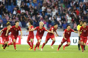 Tuyển Việt Nam thăng hạng 1 bậc lên 98 thế giới