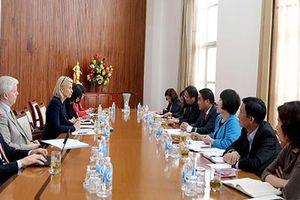 Thứ trưởng Trần Xuân Hà tiếp Phó Chủ tịch ADB Ingrid Van Wees