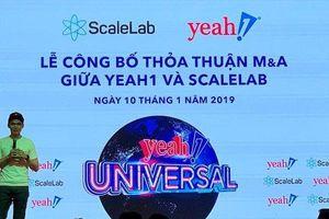 Giữa cuộc khủng hoảng, Yeah1 trút được gánh nặng 12 triệu USD mang tên ScaleLab