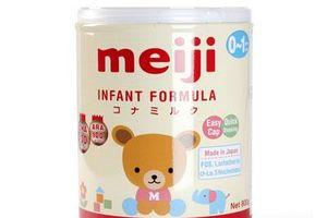 Bảng giá sữa Meiji tháng 3/2019