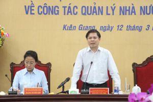 Bộ trưởng Bộ GTVT: Kiên Giang cần thúc đẩy phát triển giao thông đồng bộ