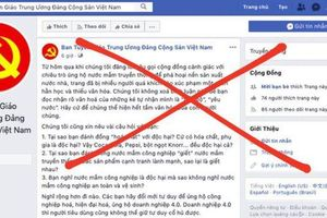 Cảnh giác với thông tin giả trên mạng xã hội