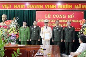 Điện Biên có tân Phó giám đốc công an tỉnh