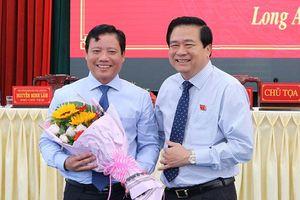 Đồng chí Phạm Tấn Hòa được bầu giữ chức Phó Chủ tịch UBND tỉnh Long An