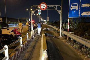 Dải bê tông trên cao tốc gây chết người do Sở GTVT TP.HCM đặt