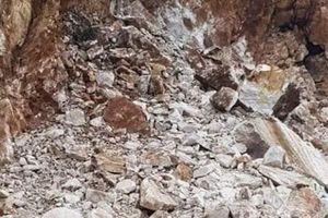 Sập hầm mỏ thiếc ở Nghệ An: Đã có 3 người thương vong