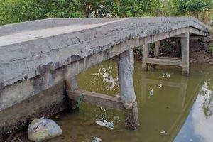 Bạc Liêu: Kiểm tra vụ Phó Chủ tịch xã 'rút ruột' công trình giao thông nông thôn
