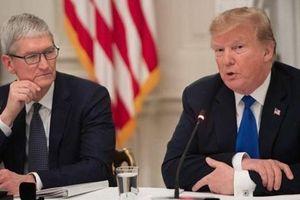Tổng thống Trump lên tiếng về vụ gọi Tim Cook là 'Tim Apple'
