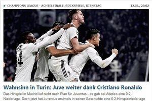 Lập hattrick siêu đẳng, Ronaldo được ca ngợi 'lên tận mây xanh'