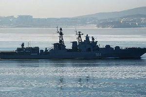 Hải quân Nga tiến hành tập trận trên vùng biển Syria