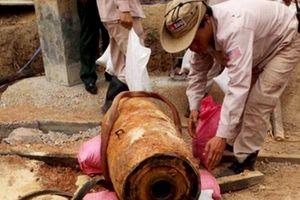 Quảng Bình: Xử lý thành công quả bom nặng 350 kg dưới móng nhà