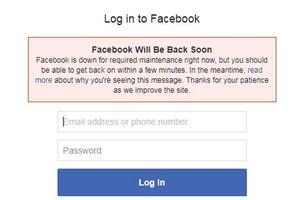 Sau Google, đến lượt Facebook gặp sự cố toàn cầu