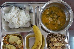 Thay đổi về chất lượng bữa ăn bán trú