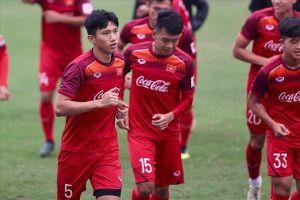 Văn Hậu cùng U23 Việt Nam miệt mài khắc phục điểm yếu cố hữu