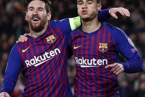 Giúp Barca vùi dập Lyon, Messi thừa nhận sốc vì Ronaldo