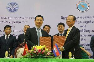 Việt Nam và Campuchia đẩy mạnh hợp tác thông tin và truyền thông