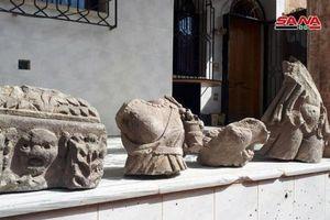 Quân đội Syria tìm thấy cổ vật bị đánh cắp trong căn cứ phiến quân