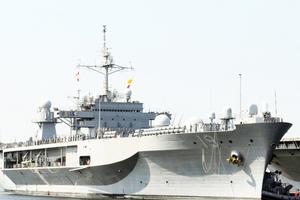 Sau khi đi qua Biển Đông, tàu chỉ huy hiện đại nhất của Mỹ thăm Philippines
