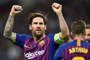Cuộc đua 'Chiếc giày Vàng' châu Âu: Messi dẫn đầu, Ronaldo hụt hơi