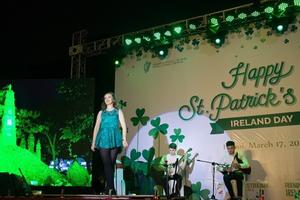 Ireland với chiến dịch nhuộm xanh Hà Nội nhân ngày lễ Thánh Patrick