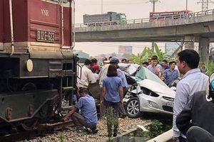 Xác định nguyên nhân tàu hỏa tông bay ô tô khiến 5 người thương vong