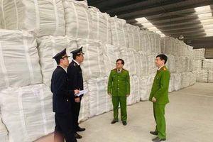 Thanh Hóa: Bắt giữ hơn 18 nghìn tấn xi măng giả nhãn mác tại cảng Đại Dương