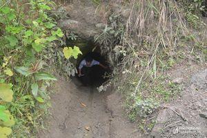 Hiện trường vụ sập hầm khiến 3 người dân mót thiếc tử nạn ở Nghệ An