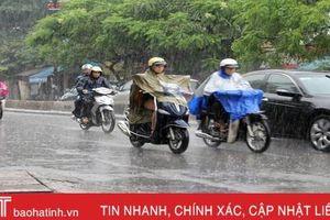 Đón đợt gió mùa mới, Hà Tĩnh lại có mưa rào từ ngày mai