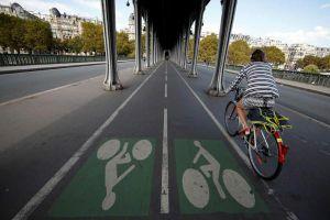 Paris tăng cường sử dụng xe đạp và xe đạp điện
