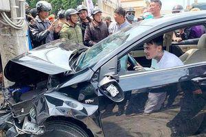 Tài xế 'ngáo đá' gây tai nạn liên hoàn khiến nhiều người bị thương