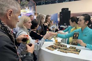 Vietnam Airlines quảng bá văn hóa tại Hội chợ Du lịch quốc tế Moscow