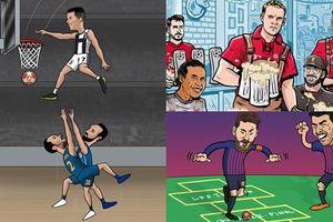 Bộ sưu tập ảnh chế 'siêu hài hước' về vòng 16 đội Champion League