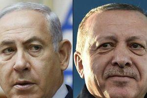 Tổng thống Erdogan và Thủ tướng Netanyahu khẩu chiến