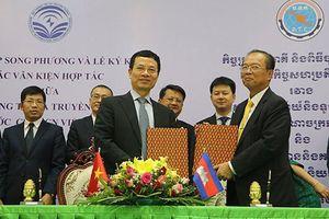 Việt Nam - Campuchia ký 3 thỏa thuận hợp tác về ICT