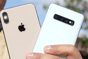So ảnh chụp từ Samsung Galaxy S10 và iPhone XS Max