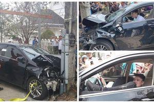 Việt kiều dương tính với ma túy, ôm vô lăng nhún nhảy sau tai nạn liên hoàn