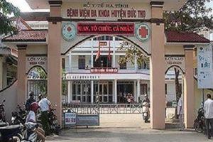 Hà Tĩnh: Phó giám đốc bệnh viện treo cổ tại nhà riêng